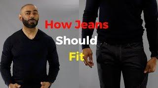 How Jeans Should Fit ( Mens Denim Guide )