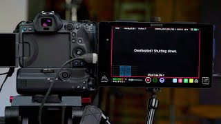Do CFexpress Cards Cause Canon EOS R5 Overheating? Tested W/ Atomos Shogun + BG-R10 Grip & Batteries