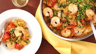 Coconut-Curried Shrimp With Couscous & Peas - Everyday Food With Sarah Carey