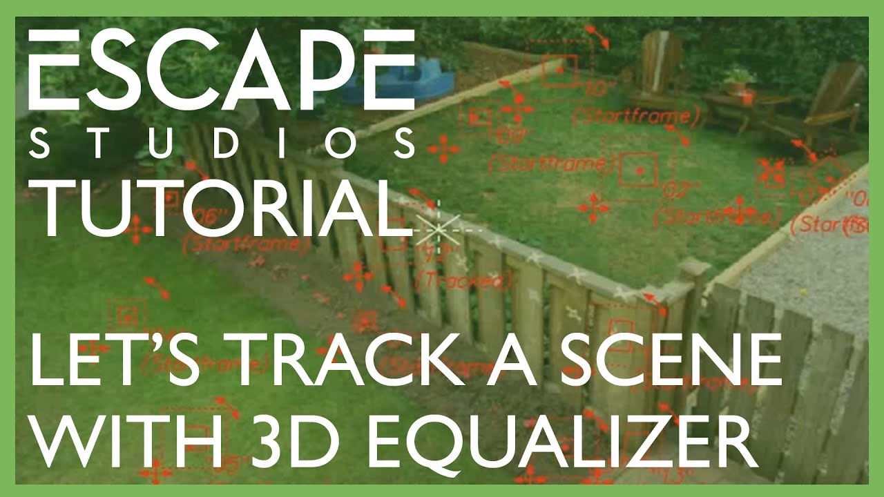 Let's Track a Scene with 3D Equalizer!