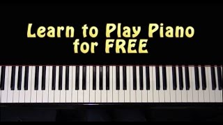 How to Play Piano for FREE
