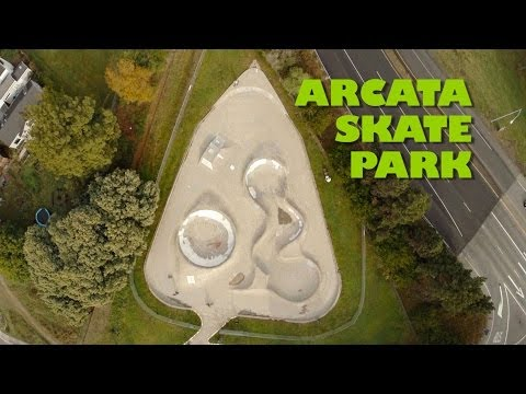 Arcata Skate Park - Aerial Views