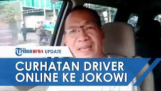 Driver Taksi Online Nangis Curhat ke Jokowi karena Tak Dapat Dispensasi Cicilan Selama Pandemi