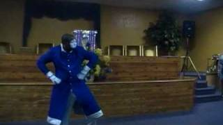 "Spiritually Appointed Mime- ""There Is A King In You"" by Donald Lawerence"
