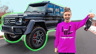 Learning to Drive Stephen Sharer's WORLDS BIGGEST Mystery Spy Machine SURPRISE!!