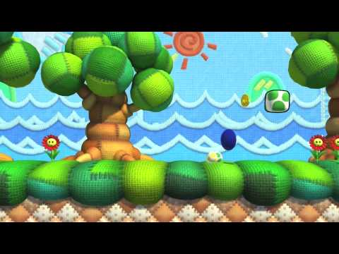 Test Chamber - Sonic Lost World's Zelda And Yoshi DLC
