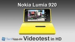 Nokia Lumia 920   Test in HD (deutsch)
