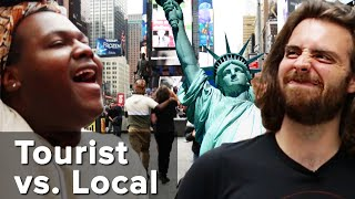 We Forced A Tourist And A Local To Go To Times Square: Tourist Vs. Local thumbnail