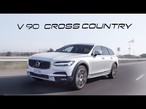 2019 Volvo V90 Cross Country Review - Battle Wagon