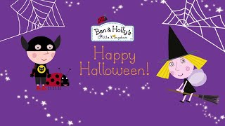 Ben and Holly's Little Kingdom | Spooky Halloween! | Kids Videos