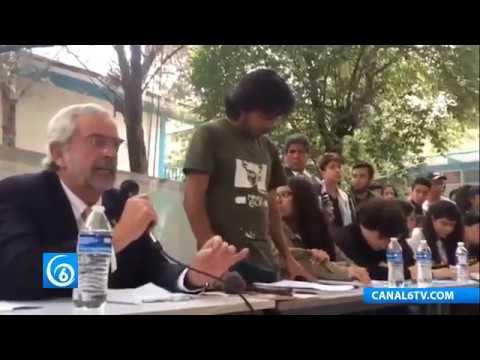 UNAM atiende demandas de estudiantes del CCH Azcapotzalco