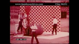 Safety in Nuclear Waste Disposal Containers.  Archive films 96251