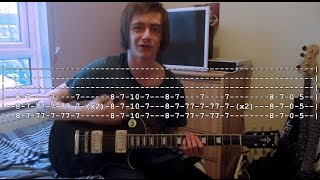 How To Play (With Tabs): Beaten In Lips - Beartooth