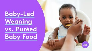 Baby-Led Weaning vs. Puréed Baby Food: Differences, How to Start & More - What to Expect