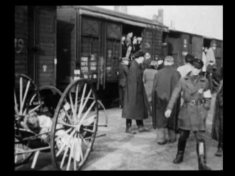 Документальный фильм-свидетельство о депортации евреев из пересыльного лагеря Вестерборк в лагеря уничтожения