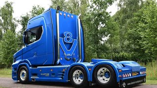 NEW NEXT GEN SCANIA T-CAB 730 PT2