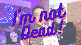I'M NOT DEAD!! But I did quit my job, launch a book, sign a book deal and write another book omg