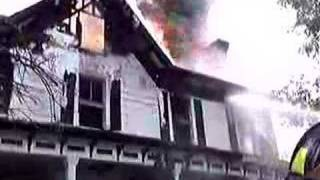 preview picture of video 'Rt 17K House Fire 06/24/2007'
