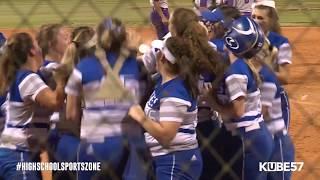 Angleton vs Barbers Hill Softball 5-25-19
