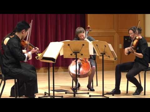 Competition performance of Beethoven's Op 59 Quartet, Final movement
