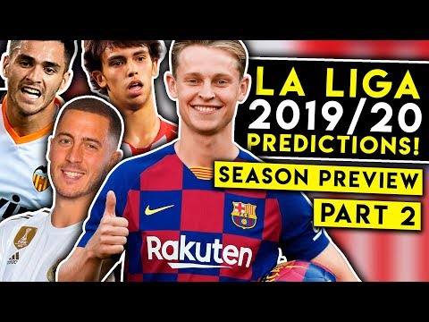 Will Barcelona win EASY this year? LA LIGA 19/20 PREDICTIONS! BugaLuis