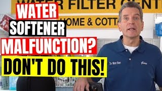 Avoid this WATER SOFTENER MISTAKE before it's too late!
