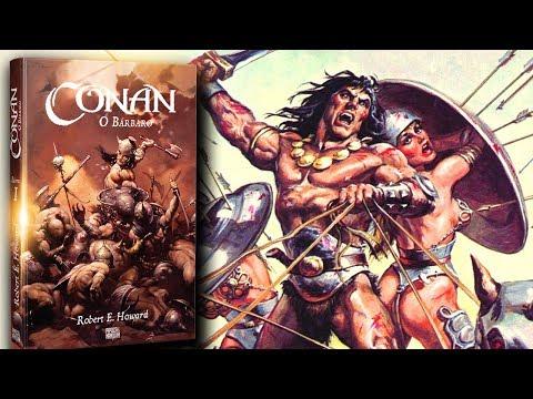 Todos os contos de CONAN no livro e nas HQs (primeiro livro)   Pipoca e Nanquim #274