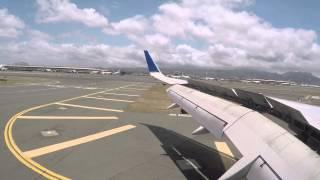 United Flight LAX to Honolulu