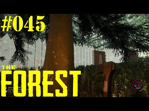 THE FOREST [HD|60FPS] #045 - LPT - Zurück zum Mauerbau ★ Let's Play Together The Forest