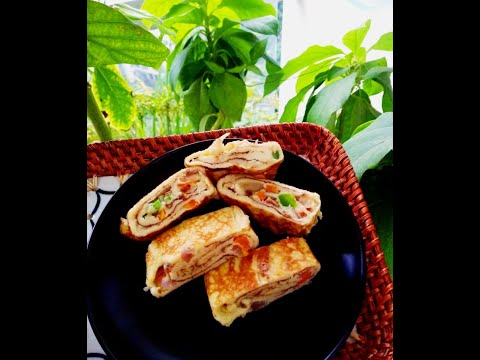 Indrani's Kitchen | Tamagoyaki in round pan