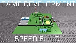 [ROBLOX] Game Development - Find the button - Speed build - F3X
