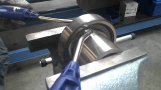 SKF 6309 Ball Bearing Torture Test With Compressed Air 12000 RPM #2