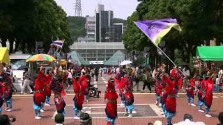 たまよさこい2010 舞華 メイン会場演舞