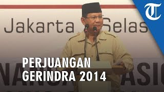 Rencana Pemindahan Ibu Kota Sesuai dengan Perjuangan Gerindra sejak 2014