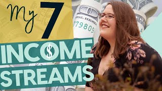 My 7 Income Streams, Passive Money Strategies + How to make money online!