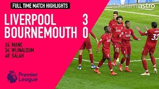 Liverpool 3 - 0 Bournemouth   EPL Highlights   Astro SuperSport