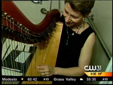 Harpist Anne Roos plays a wide variety of music on the harp, and she'll teach you how to play your favorite songs on the harp, too!