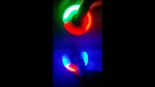 Спиннер вертушка Fidget spinner антистресс (Светящийся диоды)