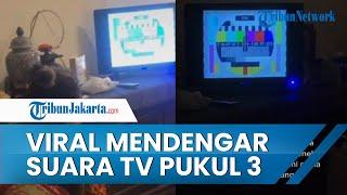 Kisah Cucu yang Terbangun Dengar Suara TV Pukul 3 Pagi, Nenek Menatap Layar meski Tak Ada Gambar