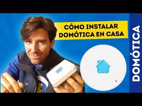 Cómo instalar DOMÓTICA en CASA (SENSORES INTEGRADOS)