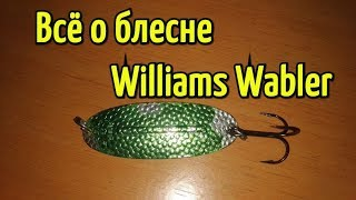 Набор блесен williams wabler classic 4w40