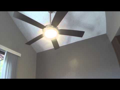 New Ceiling Fan Cool Features Harbor Breeze Platinum Portes Remote Control Quick Video Review