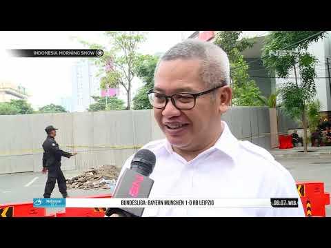 Tim Labfor Polda Jatim dan Ahli Konstruksi ITS Lakukan Investigasi Jalan Gubeng  - IMS