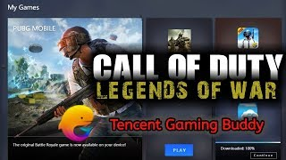 cod mobile download on tencent gaming buddy - TH-Clip