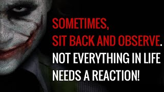 10 Of The Most Inspirational Joker Quotes To Help You Succeed In Life! | Joker Quotes | WOQ