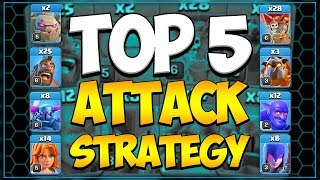 town hall 10 attack strategy - TH-Clip