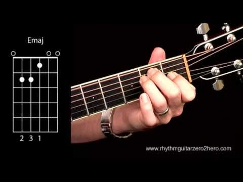 Acoustic Guitar Chords - Learn To Play  E Major