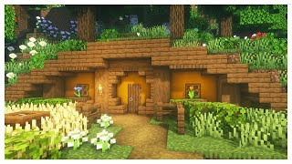 Minecraft: How To Build A Simple Hobbit Hole