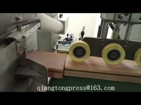 Maquina barnizadora UV recubrimiento ancho ajustable