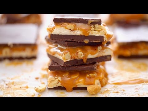 Candy Bar Fudge (Snickers) - Gemma's Bigger Bolder Baking Ep 146